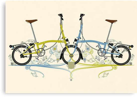 Brompton Bicycle by Andy Scullion