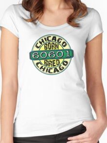 Chicago 60601 Women's Fitted Scoop T-Shirt