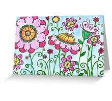 Wildberry Smoothie Greeting Card