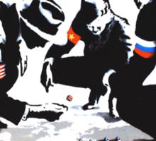 Global domination Sticker