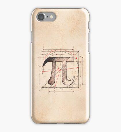 Pi Symbol Sketch iPhone Case/Skin