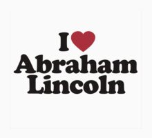 I Heart Abraham Lincoln by HeartsLove