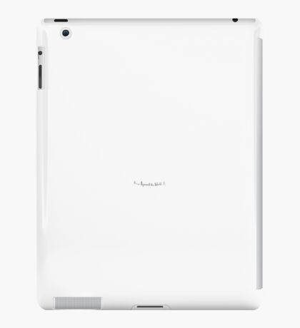 It's Us Against The World (Carkids) iPad Case/Skin
