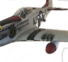 P-51 MUSTANG rc Sticker