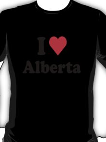 I Heart Alberta T-Shirt