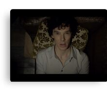 High functioning sociopath  Canvas Print