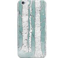 Birch Forest iPhone Case/Skin