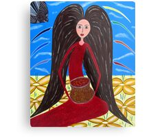 Pot of Gold  Mary Magdalene Metal Print
