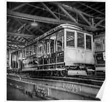 Vintage Streetcar Trolley 2117 Poster