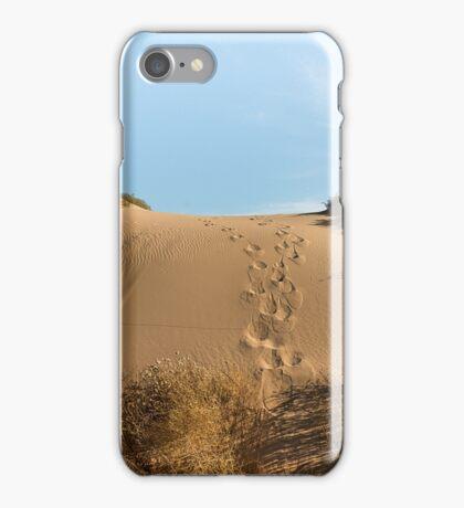 Chasing Kangaroos iPhone Case/Skin