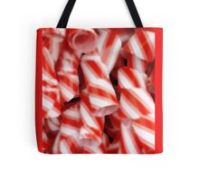 Peppermint Ribbons Tote Bag