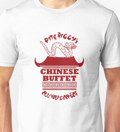 Pit & Piggy's Chinese Buffet Unisex T-Shirt