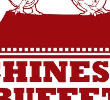 Pit & Piggy's Chinese Buffet Sticker