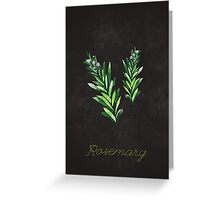 Rosemary Greeting Card