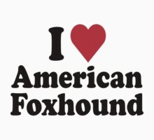 I Heart American Foxhound by HeartsLove