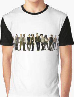 The Walking Dead Cast 2015/16 Graphic T-Shirt