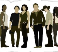 The Walking Dead Cast 2015/16 Sticker