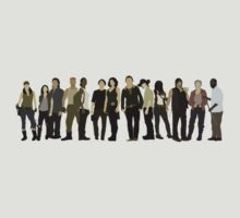 The Walking Dead Cast 2015/16 by mashuma3130