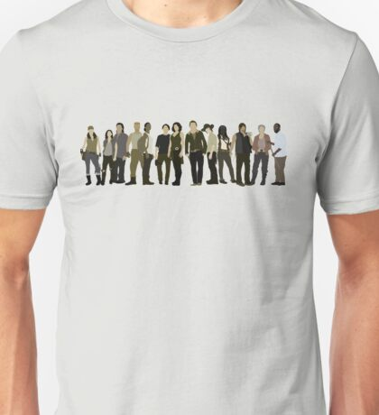 The Walking Dead Cast 2015/16 Unisex T-Shirt