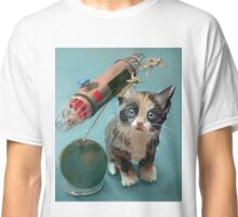 Kitten and Astronauts Classic T-Shirt