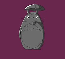 Totoro iPad case by MonsterCrossing