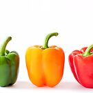 peppers.. by Michelle McMahon