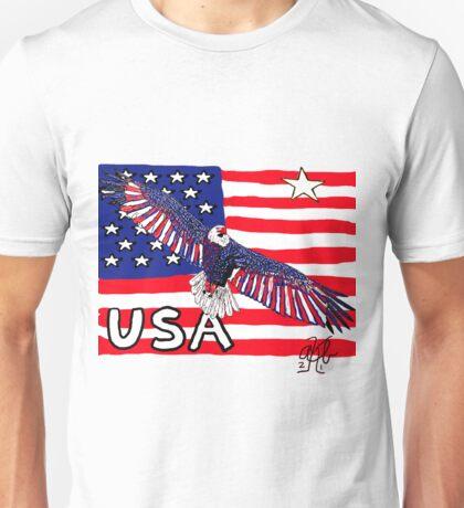 USA Quest for Brazil World Cup 2014 Unisex T-Shirt