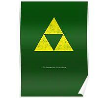 Zelda Minimalist Poster Poster