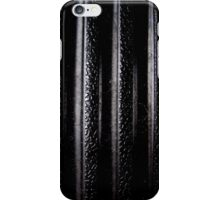 Black Rubber iPhone Case/Skin