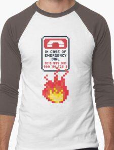 For Better Looking Responders Dial... Men's Baseball ¾ T-Shirt