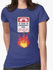 For Better Looking Responders Dial... Womens Fitted T-Shirt