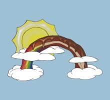 Chocolate Bacon Rainbow by ScrapBrain