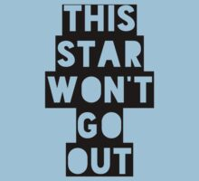 This Star Won't Go Out by Natalie Schweitzer