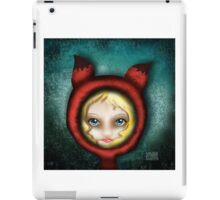 Whimsical Fox Girl iPad Case/Skin