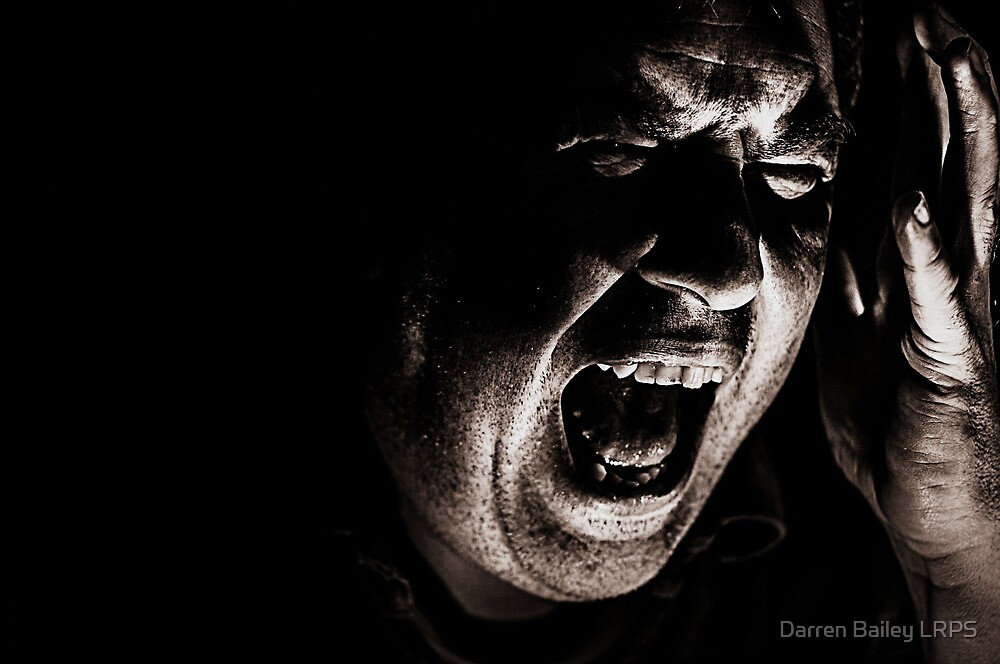 HOW INNER TORMENT FEEDS THE CREATIVE SPIRIT by Darren Bailey LRPS