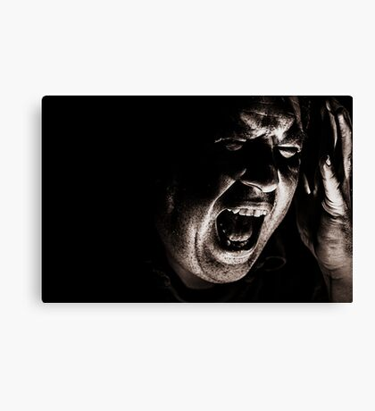 HOW INNER TORMENT FEEDS THE CREATIVE SPIRIT Canvas Print