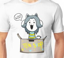 Undertale Temmie Fan-Art 3 Unisex T-Shirt
