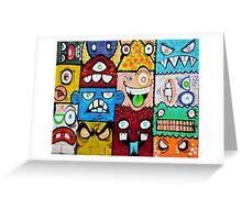 Graffiti new york Greeting Card