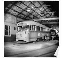 Vintage Streetcar Trolley 2569 Poster