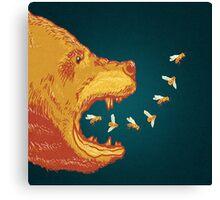 Bee Breath Canvas Print
