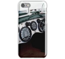 Classic Bentley dash board iPhone Case/Skin