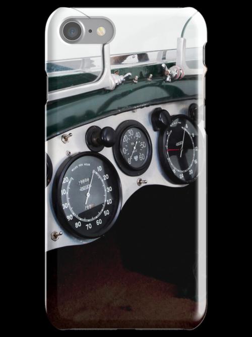 Classic Bentley dash board by Martyn Franklin
