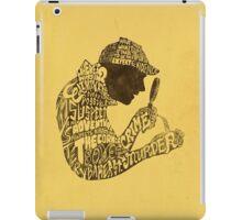 Man of Many Words iPad Case/Skin