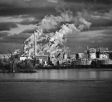 Industry In Black and White by Thomas Young