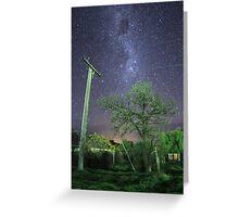 Fairy tree in suburbia Greeting Card