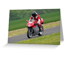 MV Augusta F4 motorcycle Greeting Card