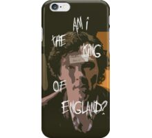 The King iPhone Case/Skin
