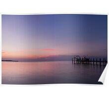 Sunset in Key Largo Poster