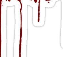 Let's Play Murder Sticker