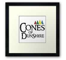 Cones Of Dunshire Framed Print